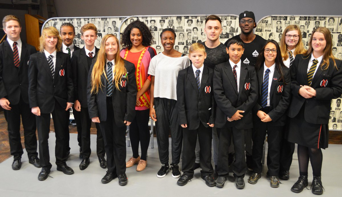 Our GCSE Drama students just witnessed an inspirational performance by @TCLive #TCRiseUp, thank you for coming in. http://t.co/CHXImzwZst