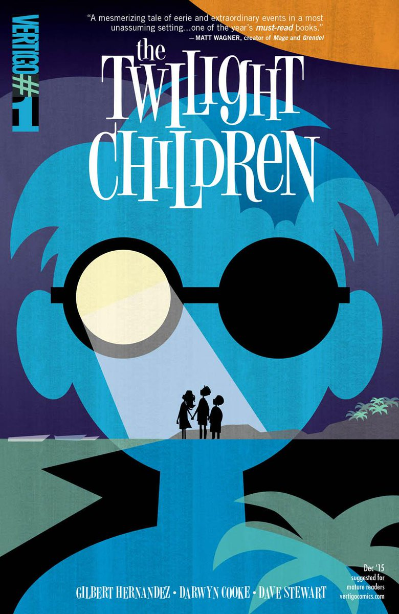 Pick of the Week goes to THE TWILIGHT CHILDREN #1 from @BetomessGilbert Darwyn Cooke @Dragonmnky! http://t.co/GkhUJtcGag