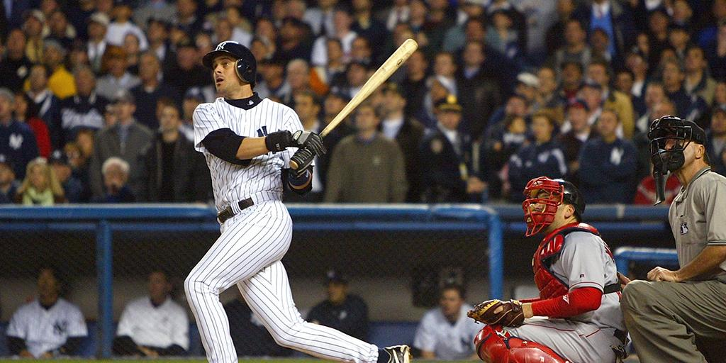 12 years ago tonight: Aaron Boone. http://t.co/NjGLPKf1tD http://t.co/40xwic4sMq