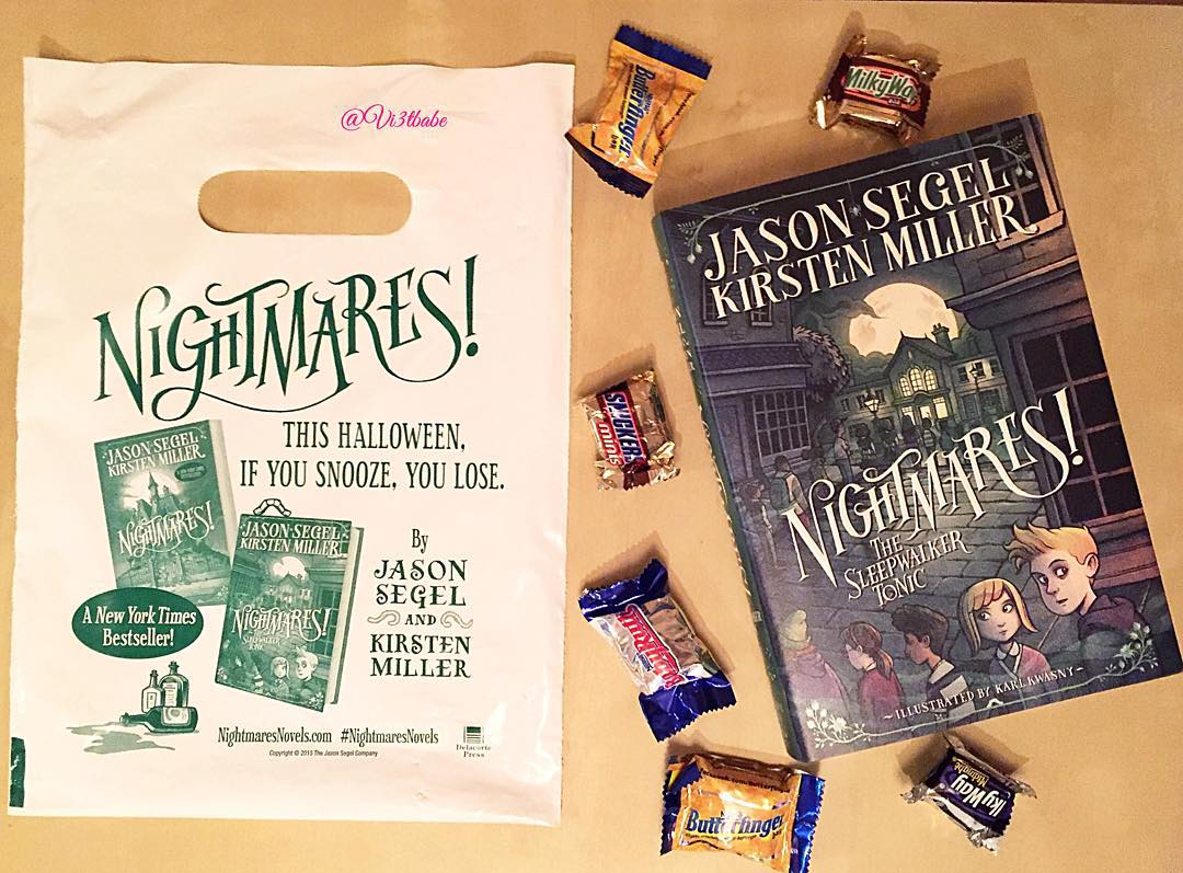 #NightmaresNovels is definitely a top choice for a #halloween read this year. Loved it! Thanks @randomhousekids for … http://t.co/NZTYp6g5bE