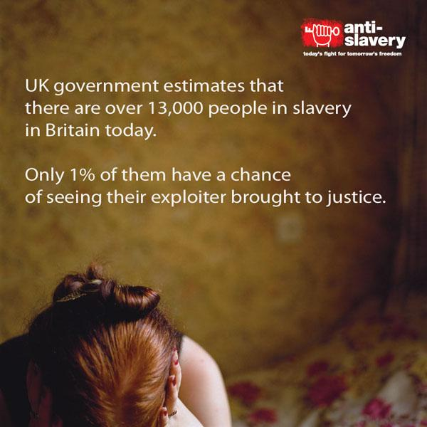 It is Anti-Slavery Day in Britain. Here's the reality of #slavery in Britain today. #AntiSlaveryDay http://t.co/EXVb8uCeR7