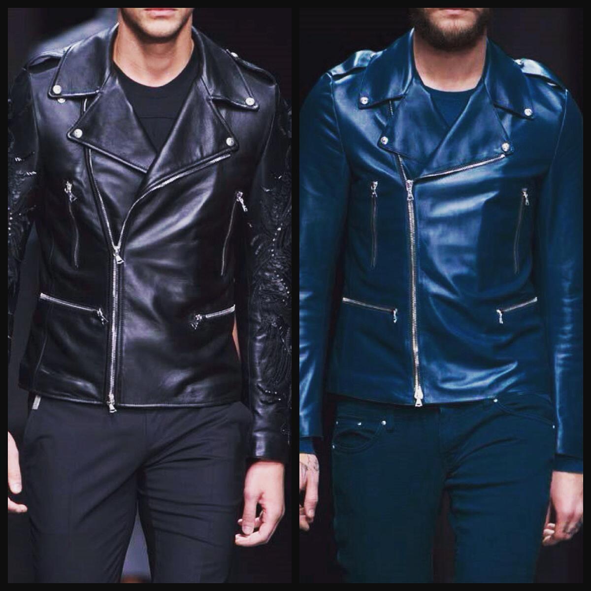 #johnrichmondofficial #johnrichmond #menswear #fw1516 #leatherjacket #leather http://t.co/UnaWkM410q