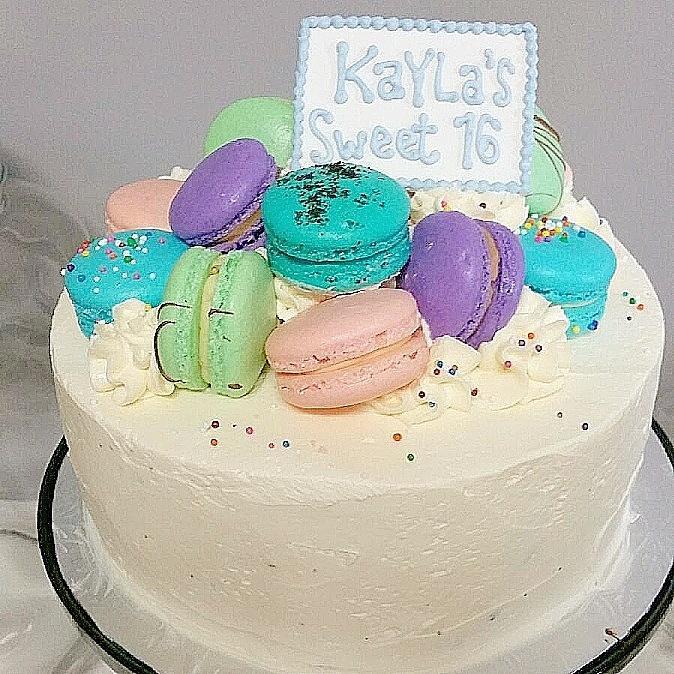 "MacaronZ On Twitter: ""#happy #sweet #16 #birthday KAYLA"
