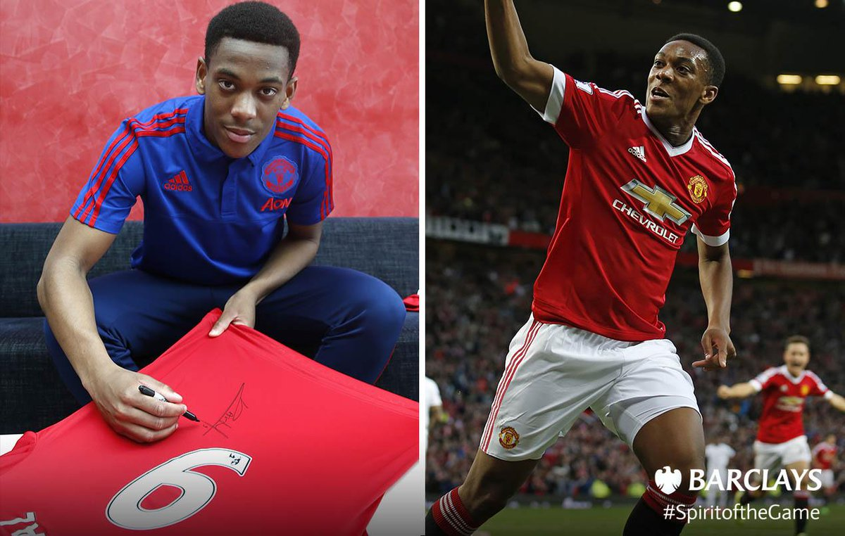 WIN a @ManUtd shirt signed by #BPL Player of the Month @AnthonyMartial. RT to enter by 9am Monday #SpiritoftheGame http://t.co/BIRPunFp1J