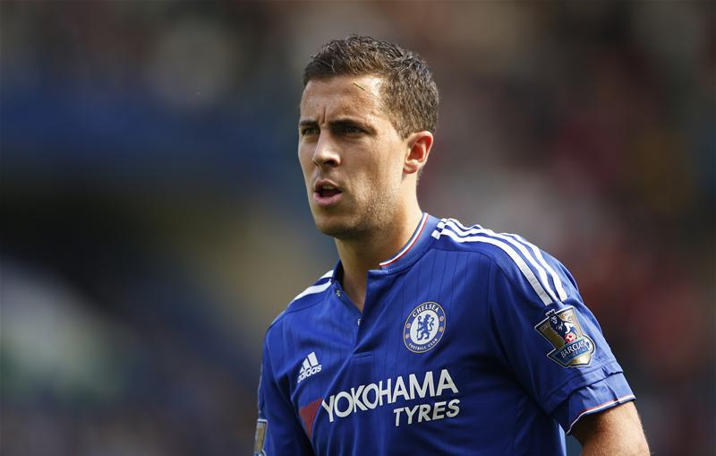Is Eden Hazard looking a bit overweight for Chelsea? This picture suggests so