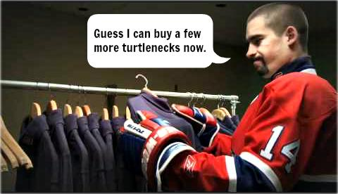 Looks like Tomas Plekanec can hit the mall today. #celebrate #extension #GoHabsGo #mostunderratedplayerintheNHL http://t.co/YZQXIAWGQI
