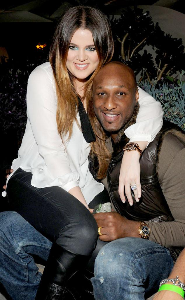 "Today Lamar Odom opened his eyes, saw Khloé and said, ""Hey, baby,"" gave her a thumbs up and then went back to sleep. http://t.co/lYh16fl3Xv"