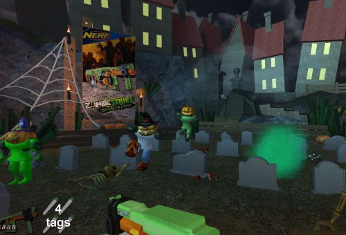 Roblox On Twitter Play The Exciting New Zombie Attack Halloween