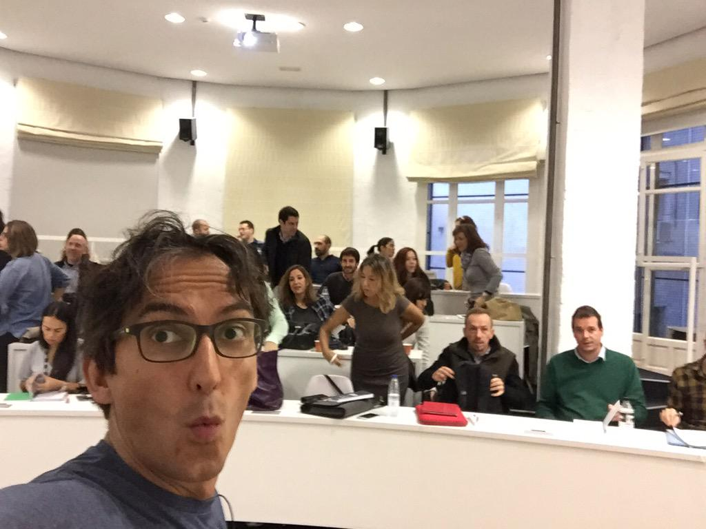 Empieza el módulo #RRSS #MIB7 turno B #Madrid futuros #MIBers a darle caña a los canales sociales! @ISDI_edu