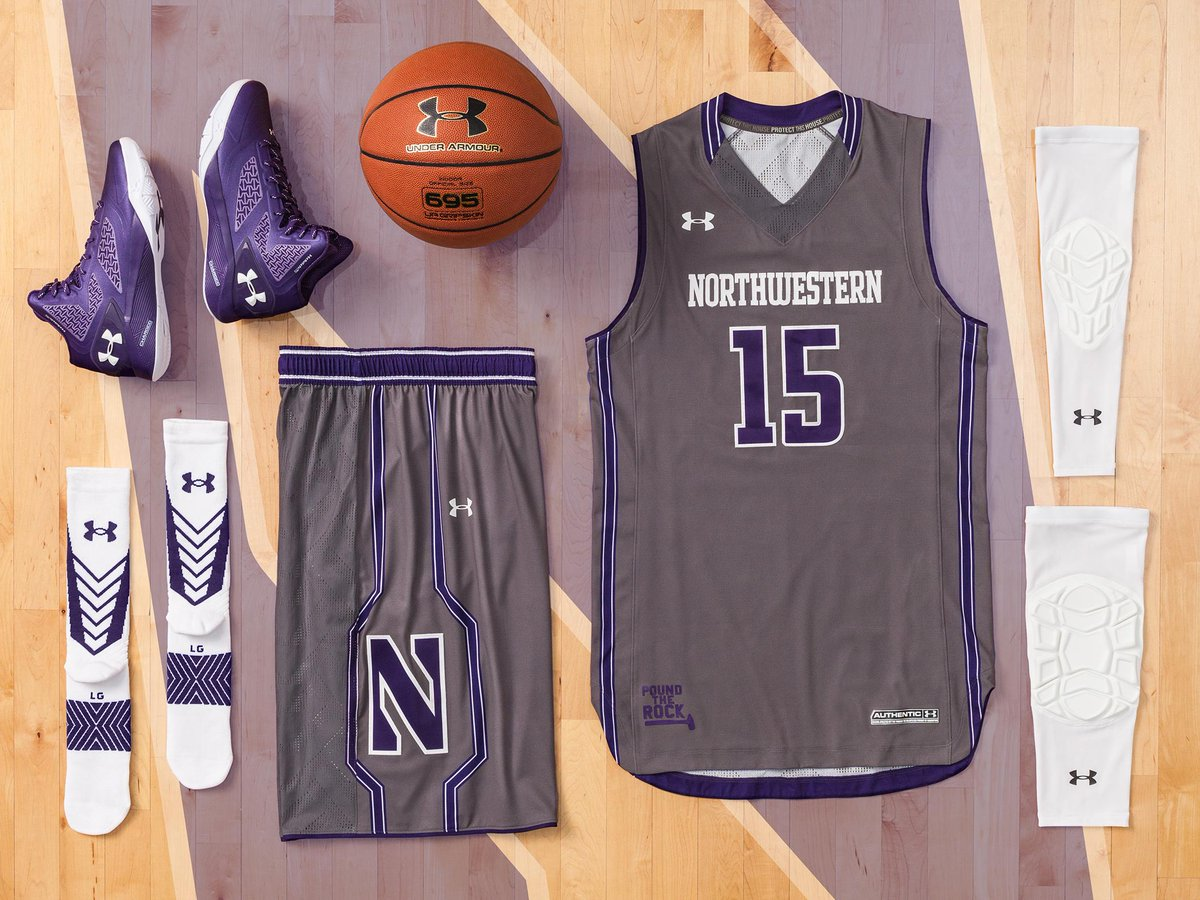 new product 3ffe8 ab445 Northwestern Basketball on Twitter: