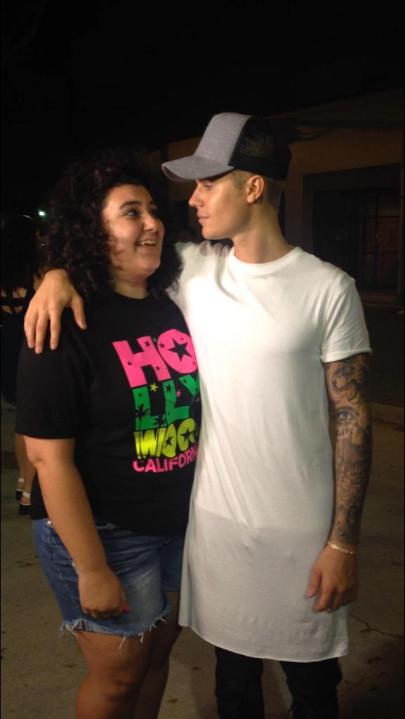 I just met Justin Bieber!!! http://t.co/bgYy8DkPXW