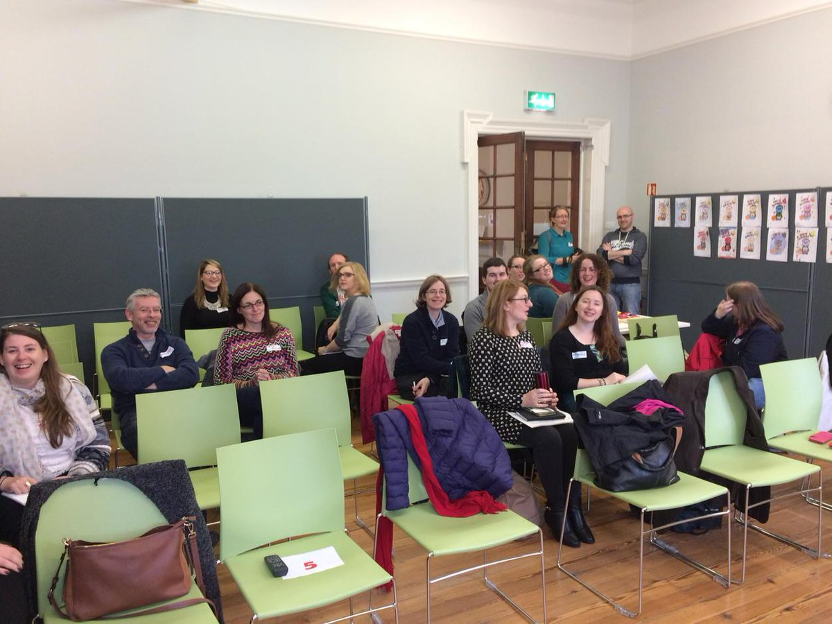 Speakers view from #npdisocial15 at Rathmines Library. Starting in a few minutes. #excitement http://t.co/bgexcu2bpx