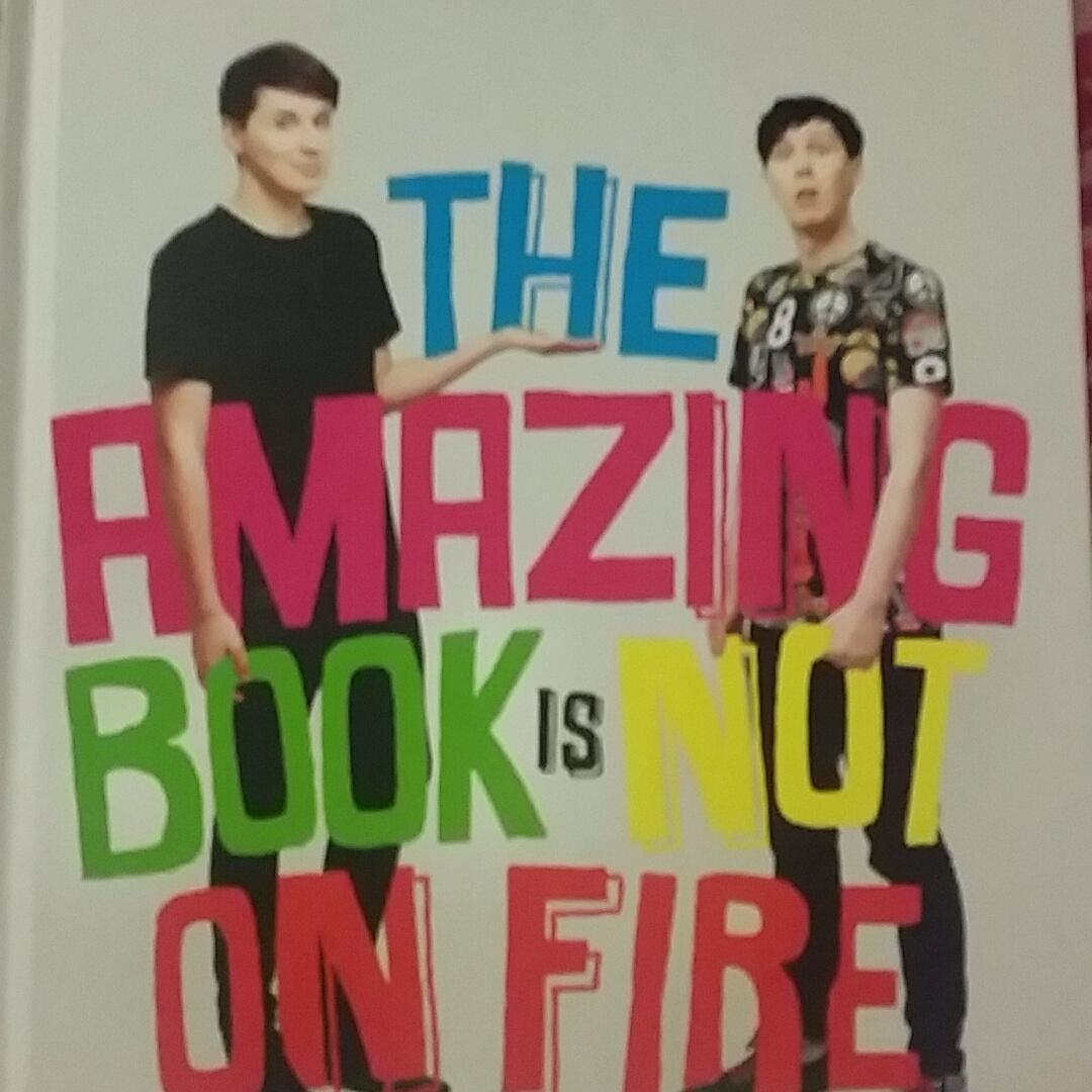 Had a meltdown in our bookstore before hand... BUT I FINALLY HAVE IT!!! @danisnotonfire @AmazingPhil http://t.co/SkZOJvlzcV