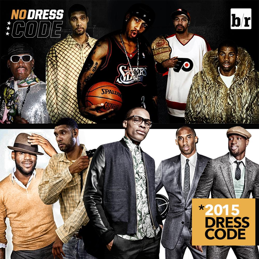 implementation of the nba dress code essay The nba on monday announced that it is instituting, effective with the start of the regular season, a league-wide.