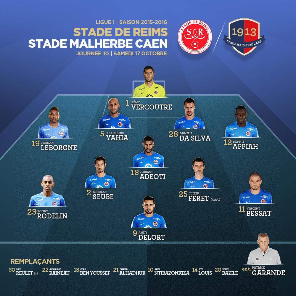 [10e journée de L1] Stade de Reims 0-1 SM Caen  CRiLTWPWIAEHiNg