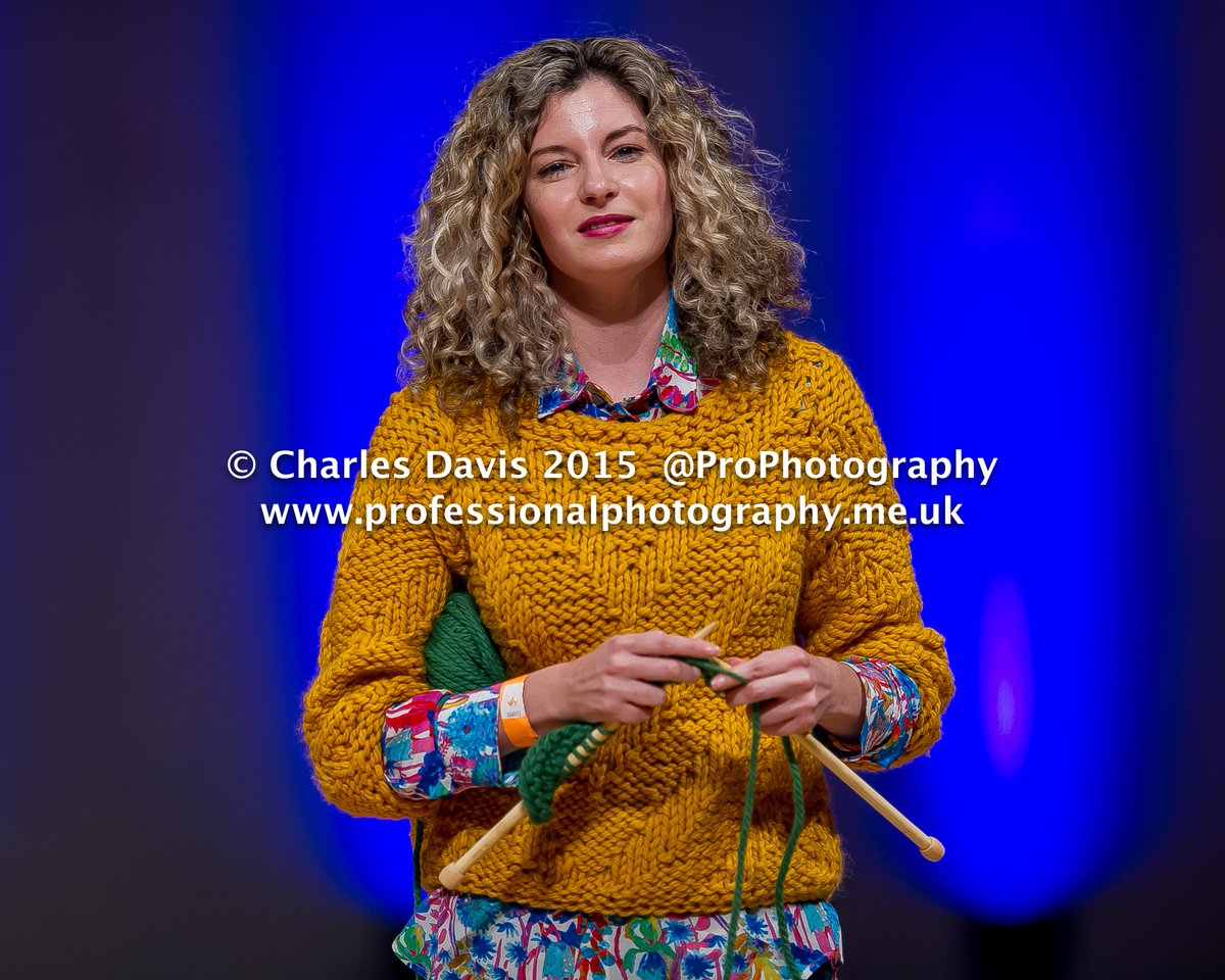 #Knitting & Walking the #Catwalk EPIC! @CrookedKnitwear at @MidlandsFashion #MFA2015 #ProPhotography #knitwear http://t.co/hpDXrKDvDN