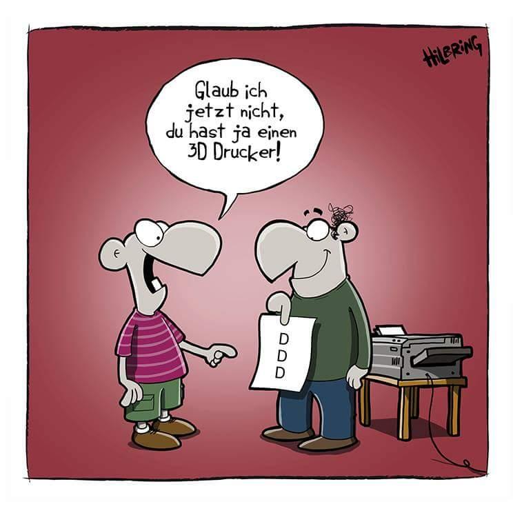 Ich möchte auch einen #3D #Drucker pic.twitter.com/xerZ1pEpfl