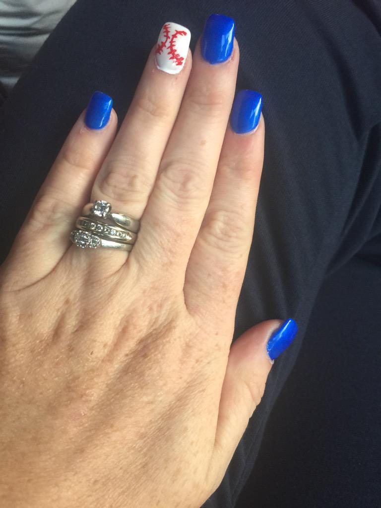 Cb1978 On Twitter Tracycityline Bluejays Mommy And Daughter Blue Jays Nails Http T Co K9hrz0ceva