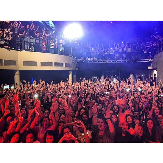 Thank you Portugal for a CRAZY awesome last show of the @JacobWhitesides European tour!
