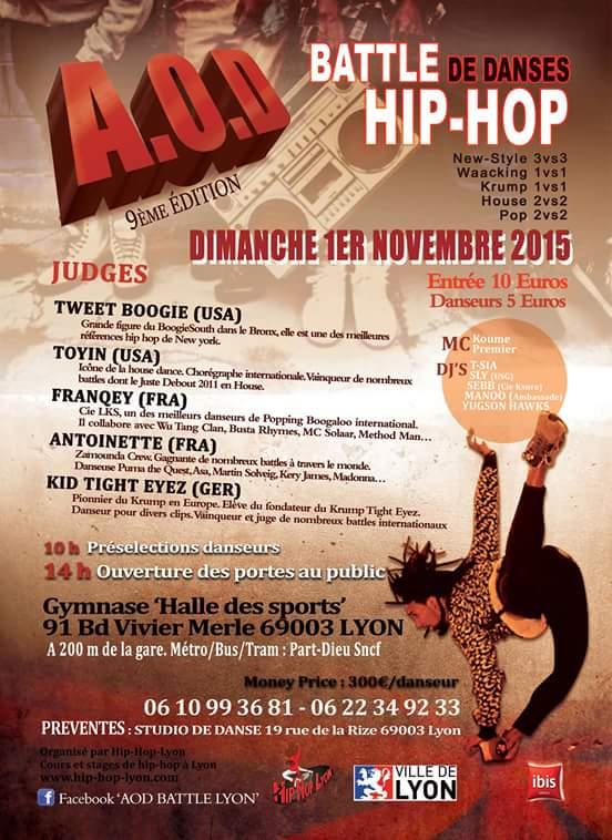Hip hop lyon hiphop lyon twitter - Office des sports de lyon ...