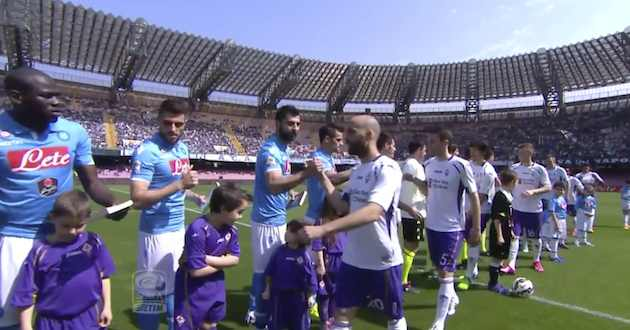 Napoli vs Fiorentina Streaming Rojadirecta