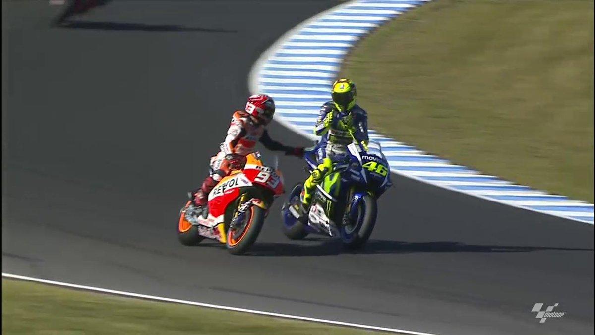Marquez vince il Gran Premio d'Australia, spettacolo puro con Lorenzo Iannone e Rossi.