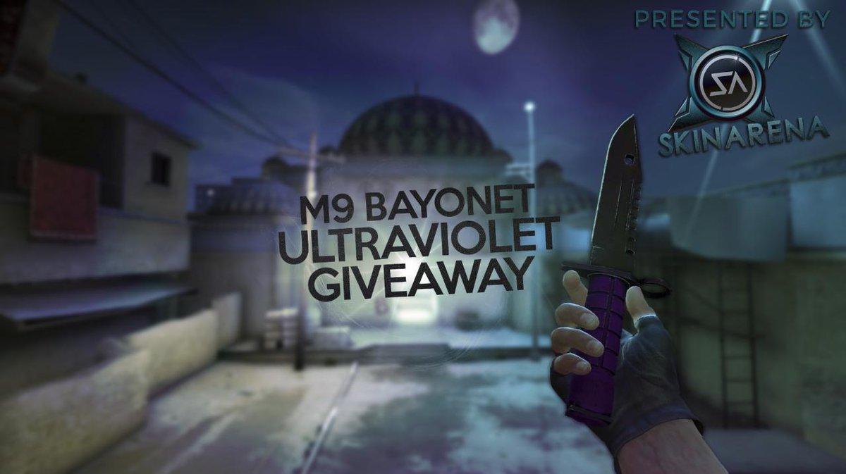 skin arena on twitter m9 bayonet ultraviolet giveaway rt follow