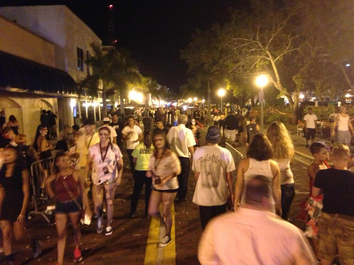 Gunman opens fire at zombie-themed street party in Florida