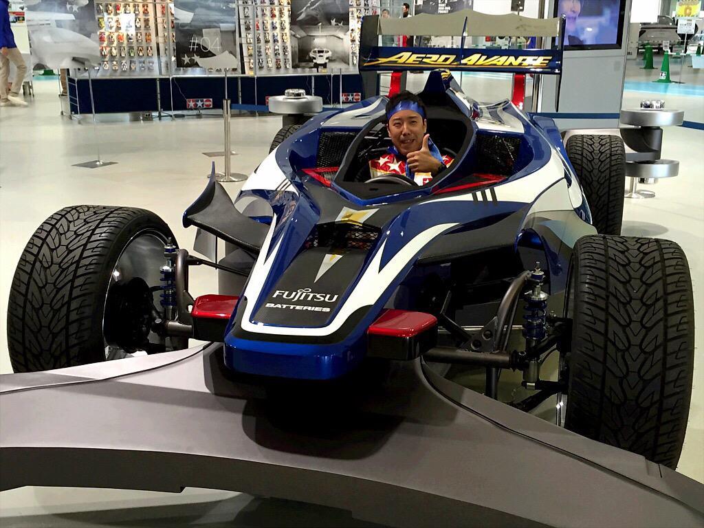 1/1ミニ四駆実車化プロジェクト『エアロ アバンテ》初公開!ただいまお台場のメガウェブで車両展示中です。 #mini4wd #giant_mini4wd pic.twitter.com/DoMFSucScm