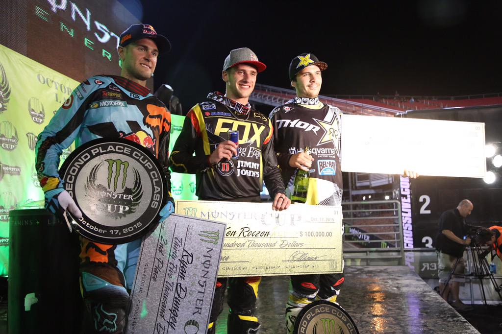 Congratulations to @KenRoczen94, @RyanDungey & @elhombre_21 on their podium finishes!