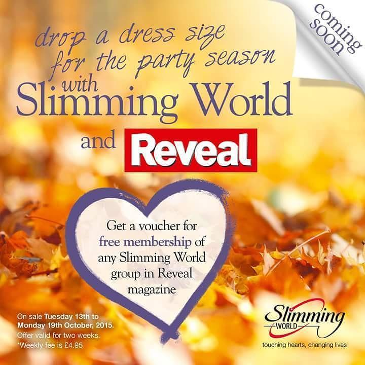 Slimming World On Twitter Get Revealmag On Sale In The Uk Today For A Free Mini Mag About