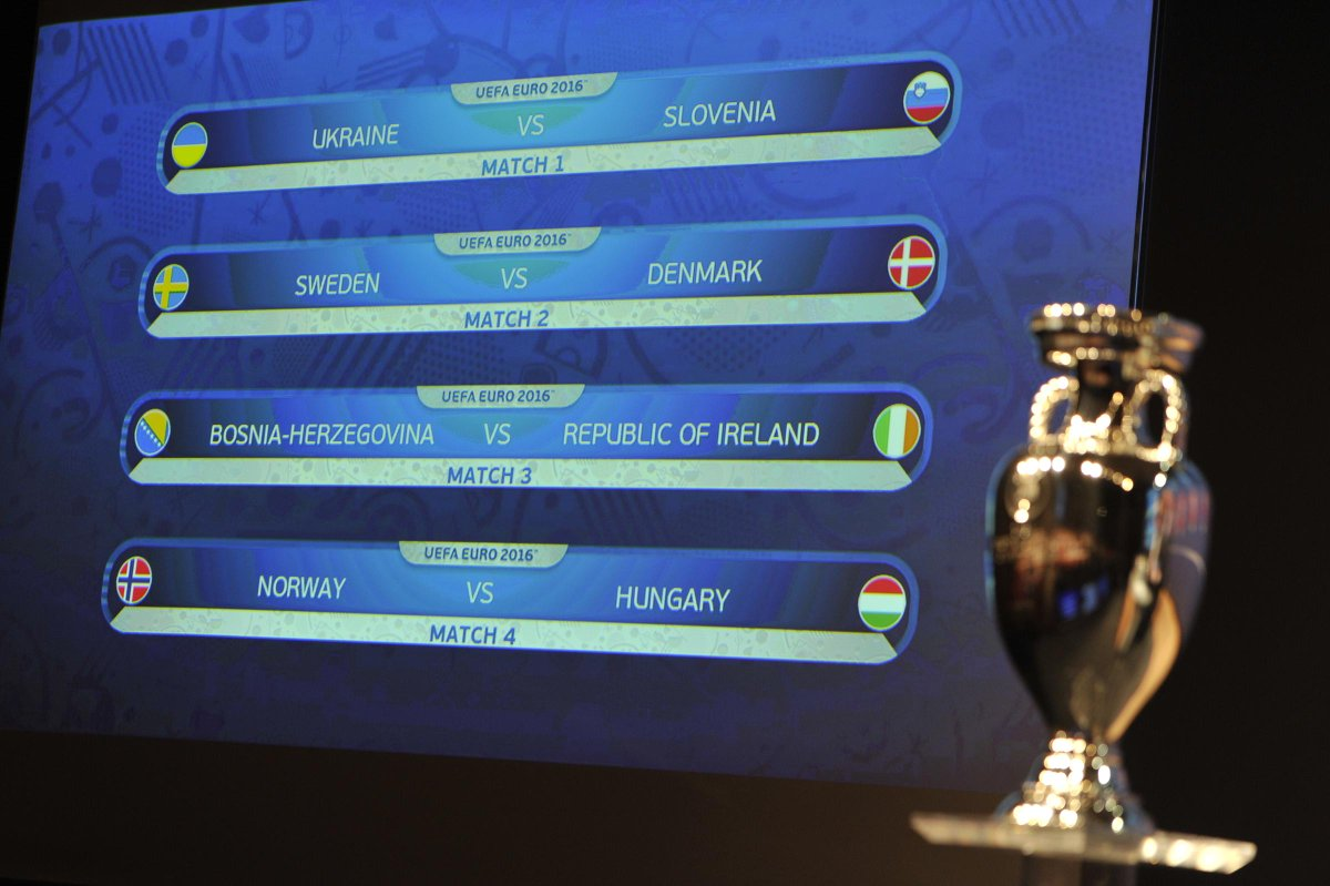 Отбор Евро-2016. Украина сыграет со Словенией в плей-офф - изображение 1