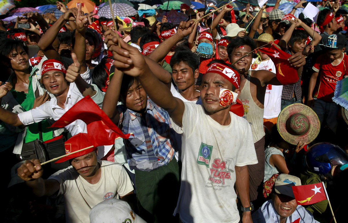 Replying to @globalyouthind: Is the US Giving Myanmar a Free Pass? http://t.co/P3VVTKZY03 http://t.co/RcInrN0Ipx""