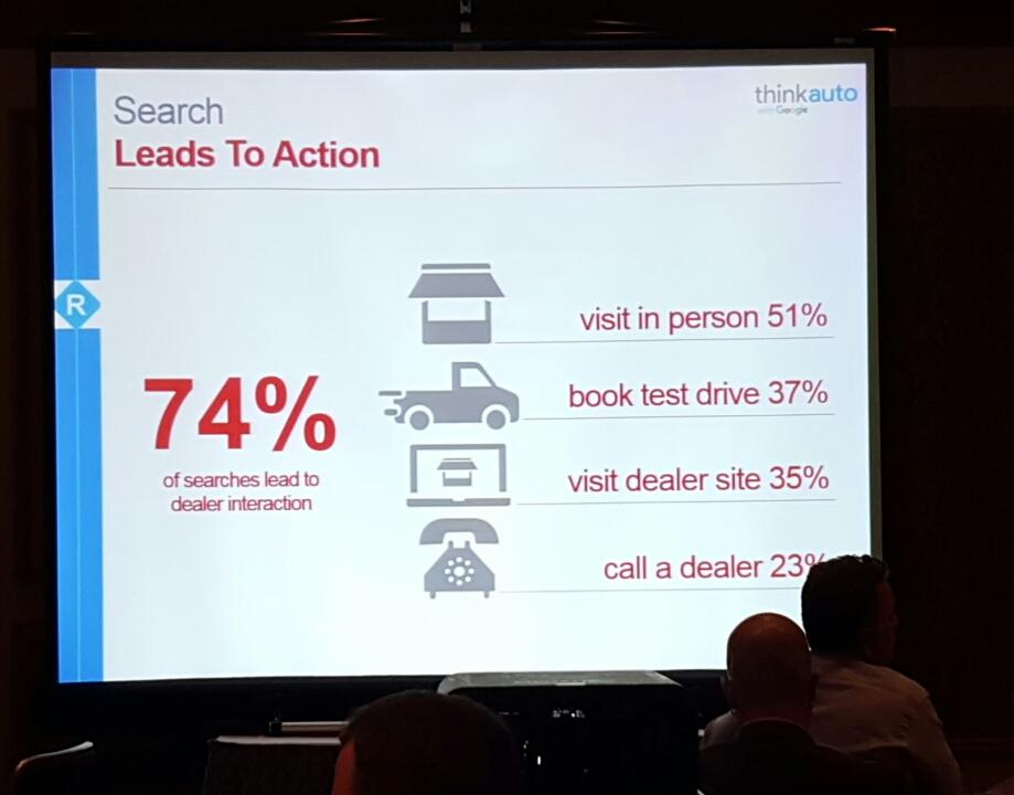 """.@GoogleAuto searches """"...just get 'em in"""" #dses #theNextUp http://t.co/PfenD051tS"""
