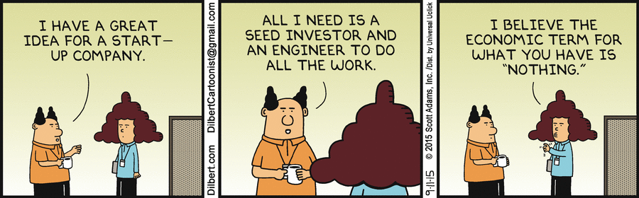Entrepreneurship, Silicon Valley style. :) http://t.co/7Y43yLgFwC