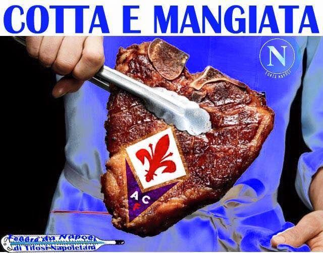 Napoli batte Fiorentina due a uno.