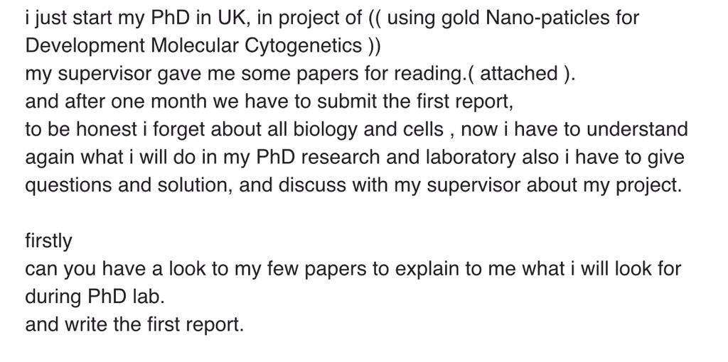 I've had high school students try to get me to do their homework, but this takes the cake: http://t.co/bu5NOvT0Ck