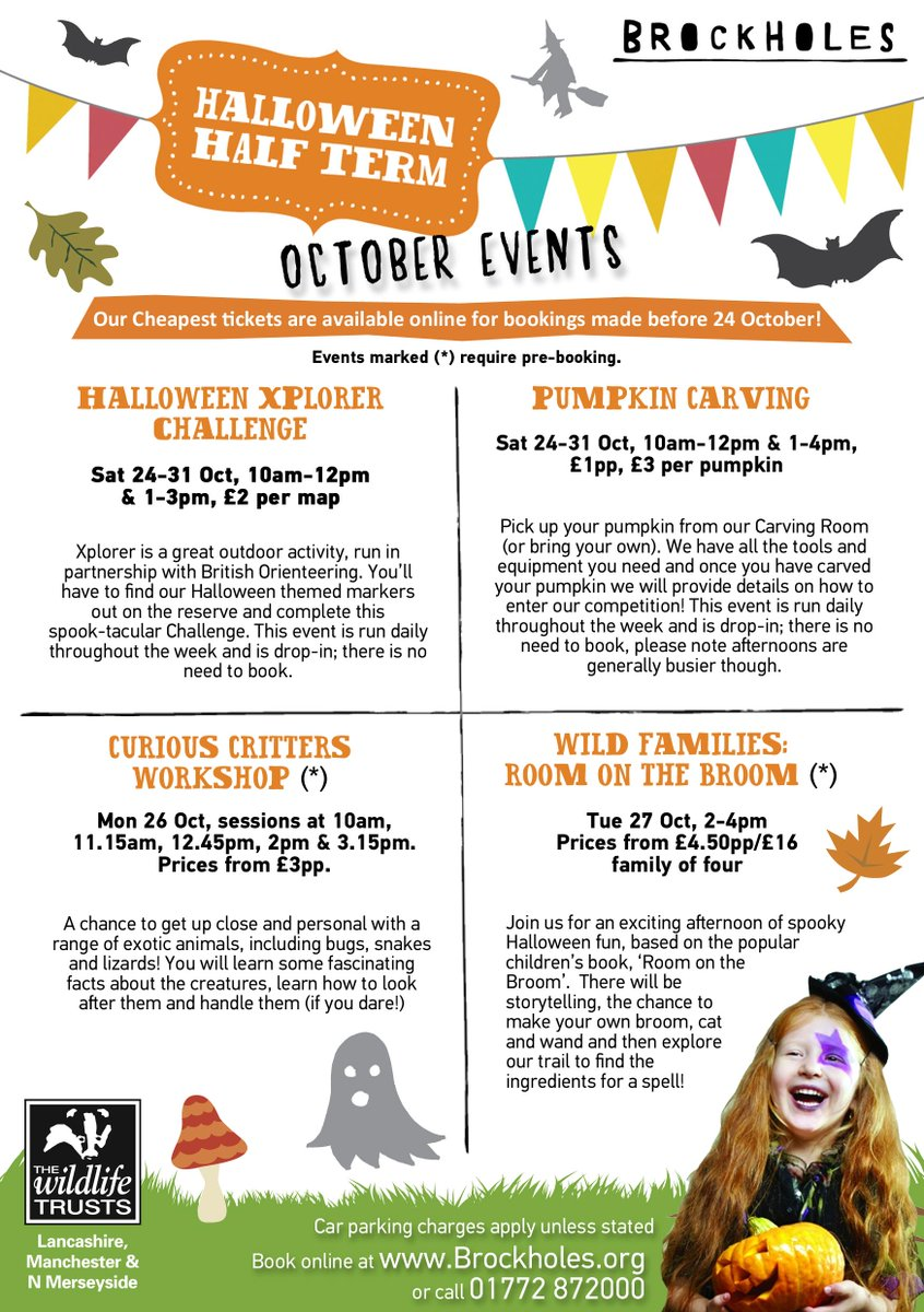"brockholes on twitter: ""spine chilling fun for half-term #halloween"