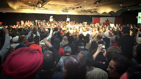 B.C. Reception for Justin Trudeau. Let's keep the momentum going! http://t.co/teHipYhJA8