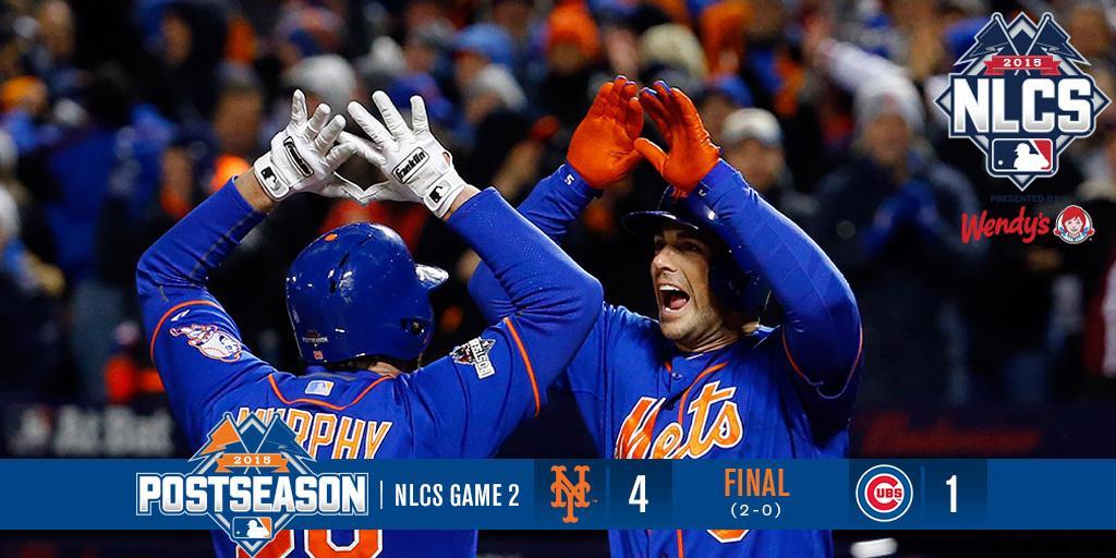 The ballgame is over! #MetsWIN! #Mets 4-1. #YaGottaBelieve #Books #Mets #LGM