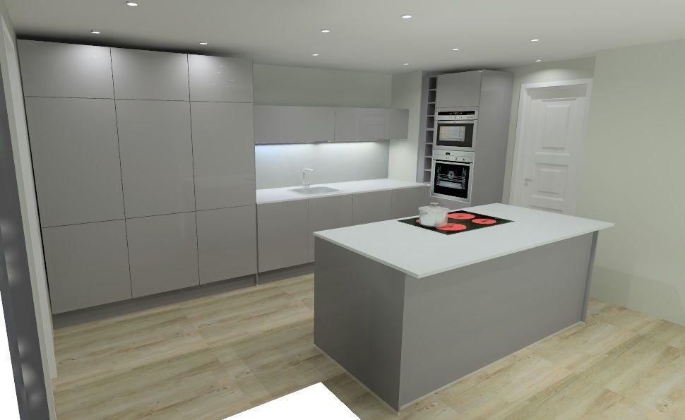 UsedKitchenExchange On Twitter Bargain ExDisplayKitchen - Anthracite grey kitchen units