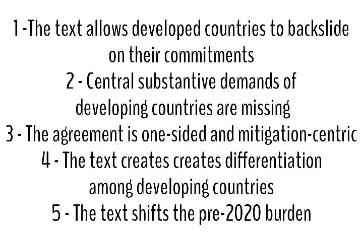 5 ressons why the #Bonn #adp2 text isnt the right place to start. In fact is the wrong place. http://t.co/aK6Z8dyyj5 http://t.co/EcyRn1xzMn