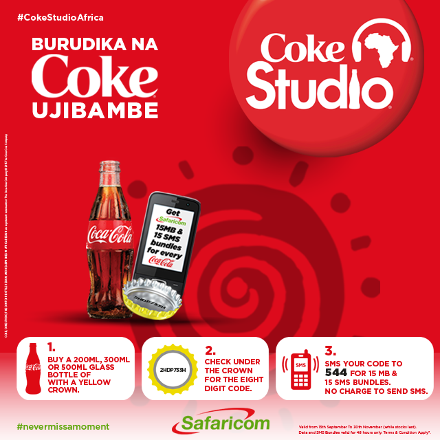 Chase the Monday blues away by getting free MBs from Coca Cola and Safaricom. RT to win free airtime http://t.co/Y23VFY0xXs
