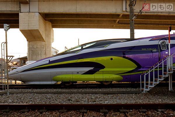 500系エヴァ新幹線想像以上に、室内凝っててすごいことに…!!! pic.twitter.com/NHcn24We9c