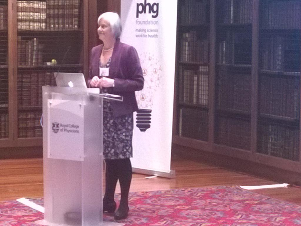 And we're off. PHG director Hilary Burton opens proceedings in gorgeous RCP library. #PHGID http://t.co/2MRmJtn7zK