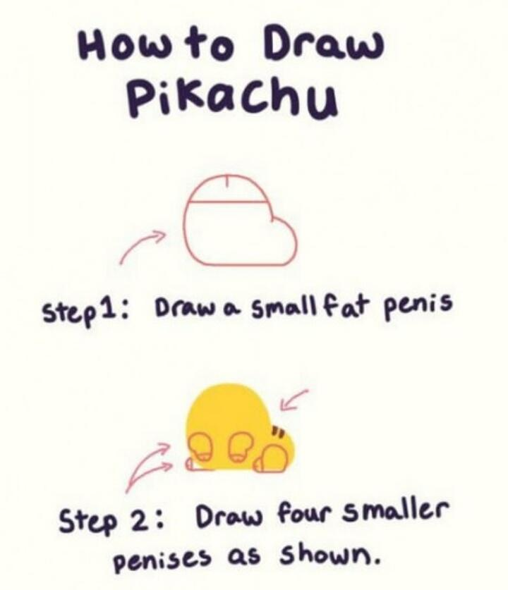 I've never laughed so hard in my life ROFLMAO   How to draw a Pikachu http://t.co/Nym8OawPhu