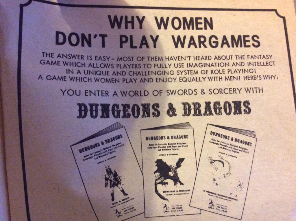 Really old ad for D&D http://t.co/IdbEobP0JU