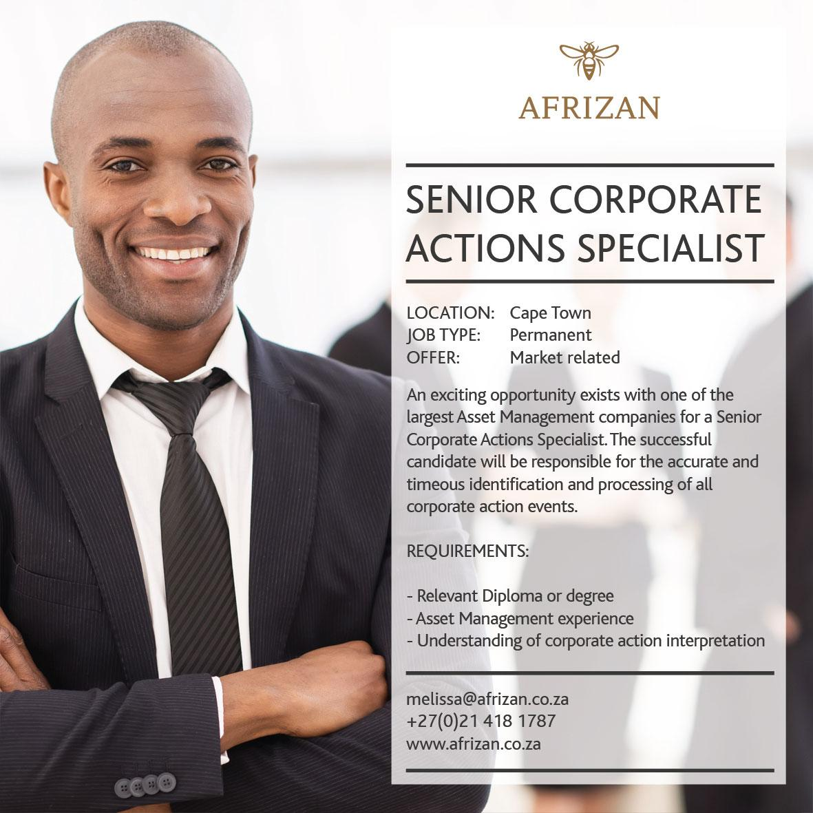 analyst corporate actions processing alabang  associate corporate
