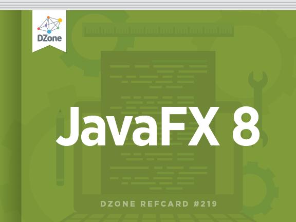 New @DZone Refcard: JavaFX 8 by @hendrikEbbers & @net0pyr http://t.co/uWISZISJTo #java #ui http://t.co/NCqMggv3DR
