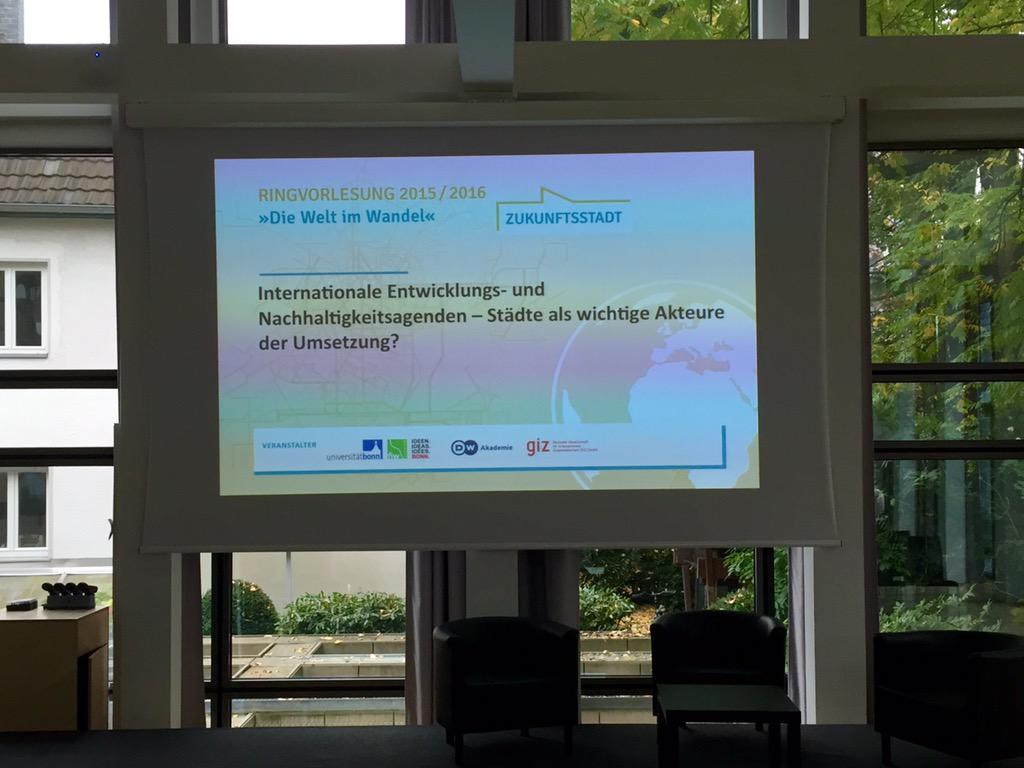 Thumbnail for Internationale Entwicklungs- und Nachhaltigkeitsagenden - Städte als wichtige Akteure der Umsetzung?